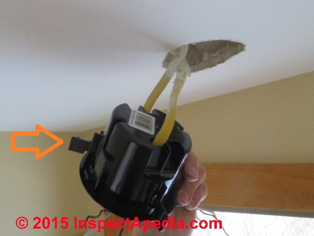 Installing An Old Work Electrical Box In Existing Ceiling C Daniel Friedman
