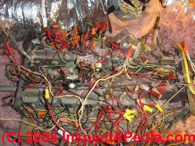 low voltage electrical wiring lighting systems inspection rh inspectapedia com low voltage house wiring systems low voltage house wiring diagram