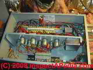 LowVoltageRewiredGERelayBox020DFss low voltage building wiring & lighting systems inspection & repair