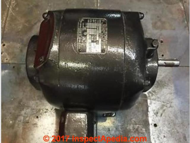 Master Electric Motor Ca 1963 C Inspectapdedia