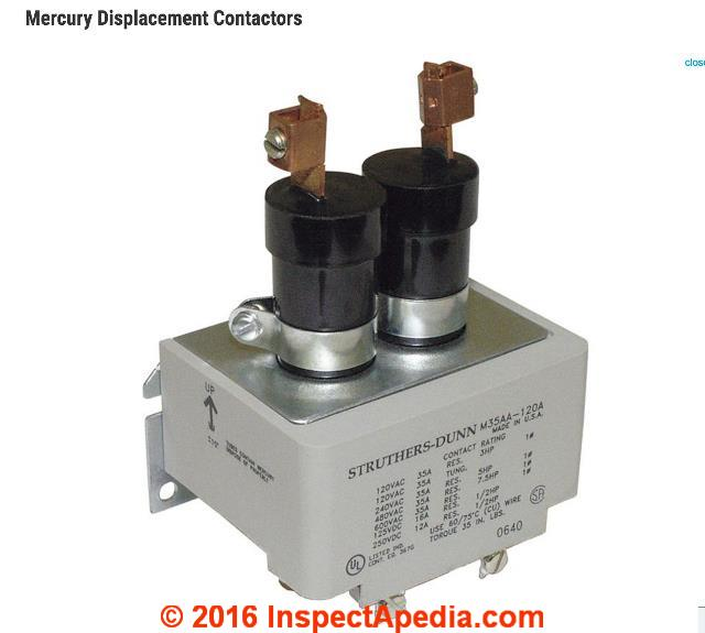 Contactors relay switches chattering noise air for Air conditioner compressor motor