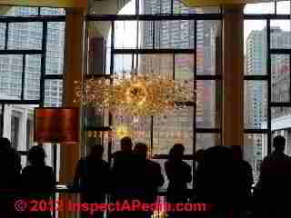 Lobby lighting, Metropolitan Opera, NYC (C) D Friedman