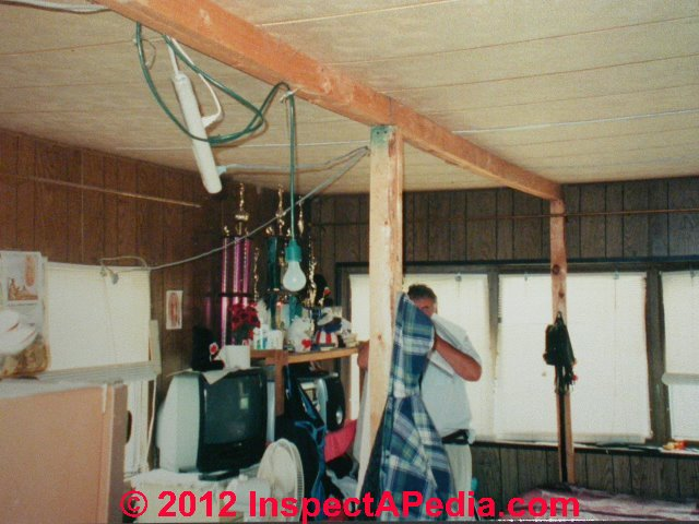 mobile home electrical inspection guide how to inspect the rh inspectapedia com mobile home electric wire mobile home electrical panel wiring diagram