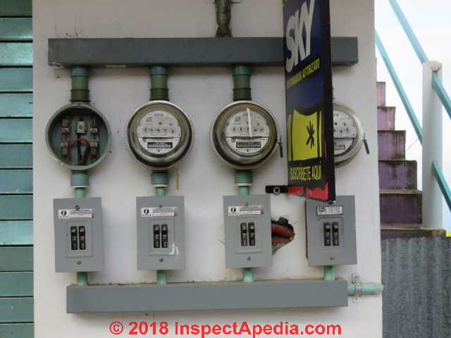 Electric Meter Inspection, Reading, Problem Diagnosis + how to