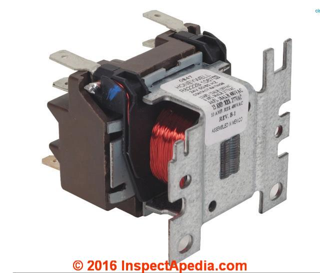 Contactors Relay Switches Chattering Noise Air Conditioner Heat