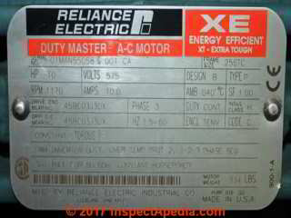 Electric motor rotation direction diagnosis repair faqs for Duty master ac motor reliance electric