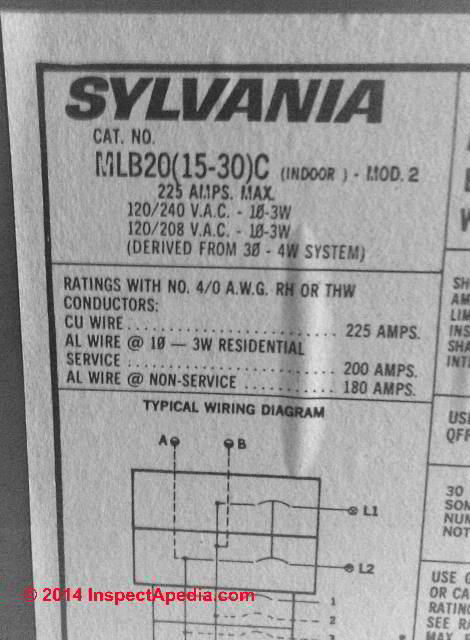 How to Identify Zinsco & GTE Sylvania-Zinsco Electrical Panels ...