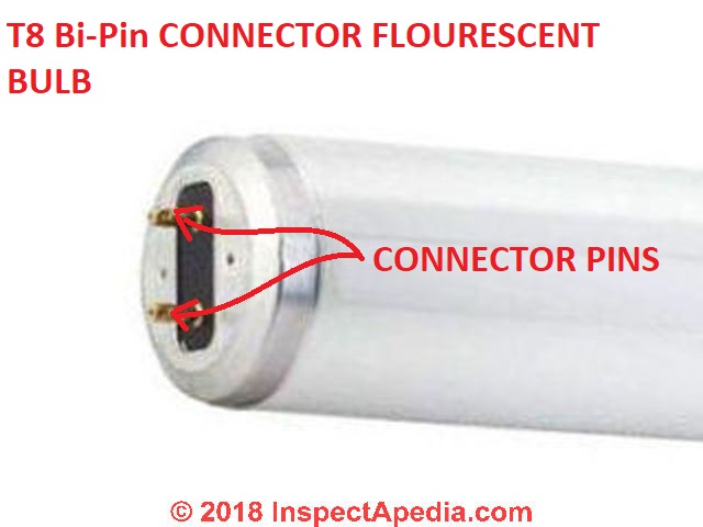 Fluorescent Light Connectors Types Of Lamp Base Or