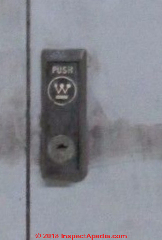 on westinghouse electric panel