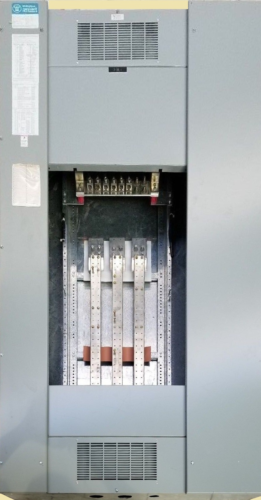 Westinghouse Electric Panel on