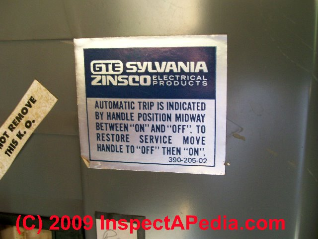 Zinsco Sylvania_Label026 JPSs how to identify zinsco & gte sylvania zinsco electrical panels Fuse Box to Breaker Box at edmiracle.co