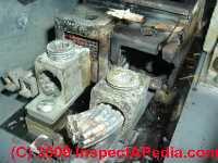 Photo of a Zinsco electrical panel failure