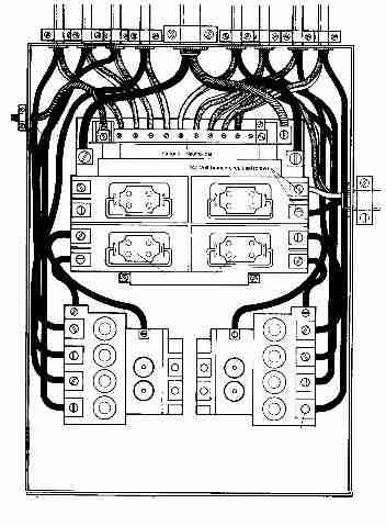 Square D 100   Load Center Wiring Diagram on wiring diagram homeline load center