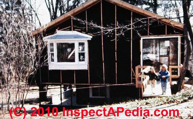15 Pound Felt House Wrap (C) Daniel Friedman Roofing ...
