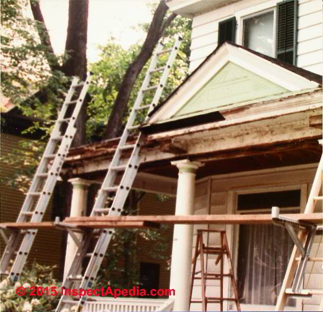 Pillar Concrete Addition : Porch column repair or replacement