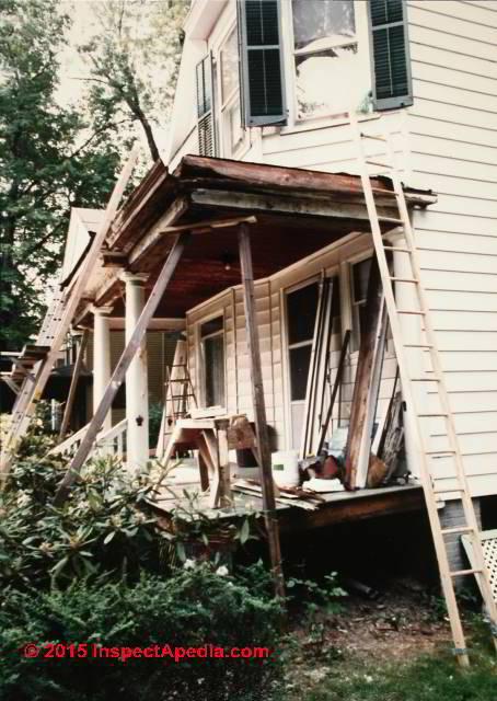 Porch Column Repair Or Replacement Porch Column Repair