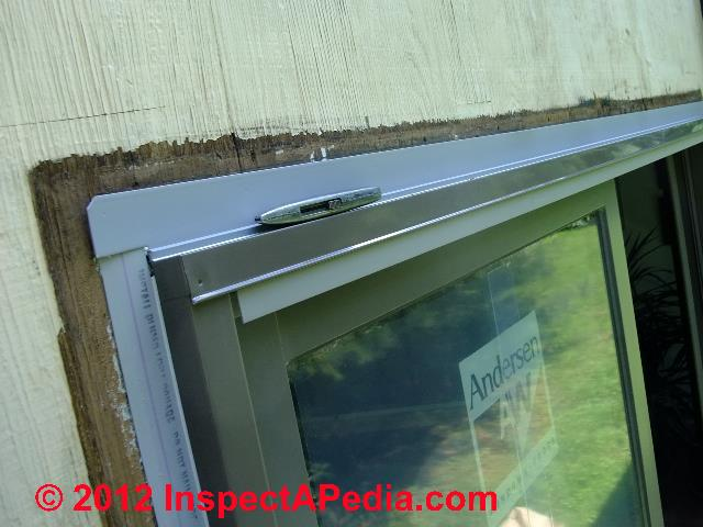 Brick brick wall leak diagnosis repair for Window flashing