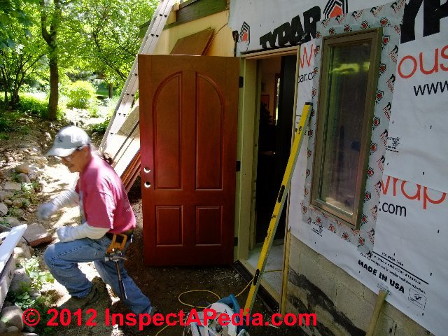 House Wrap Before Or After Foam Insulation