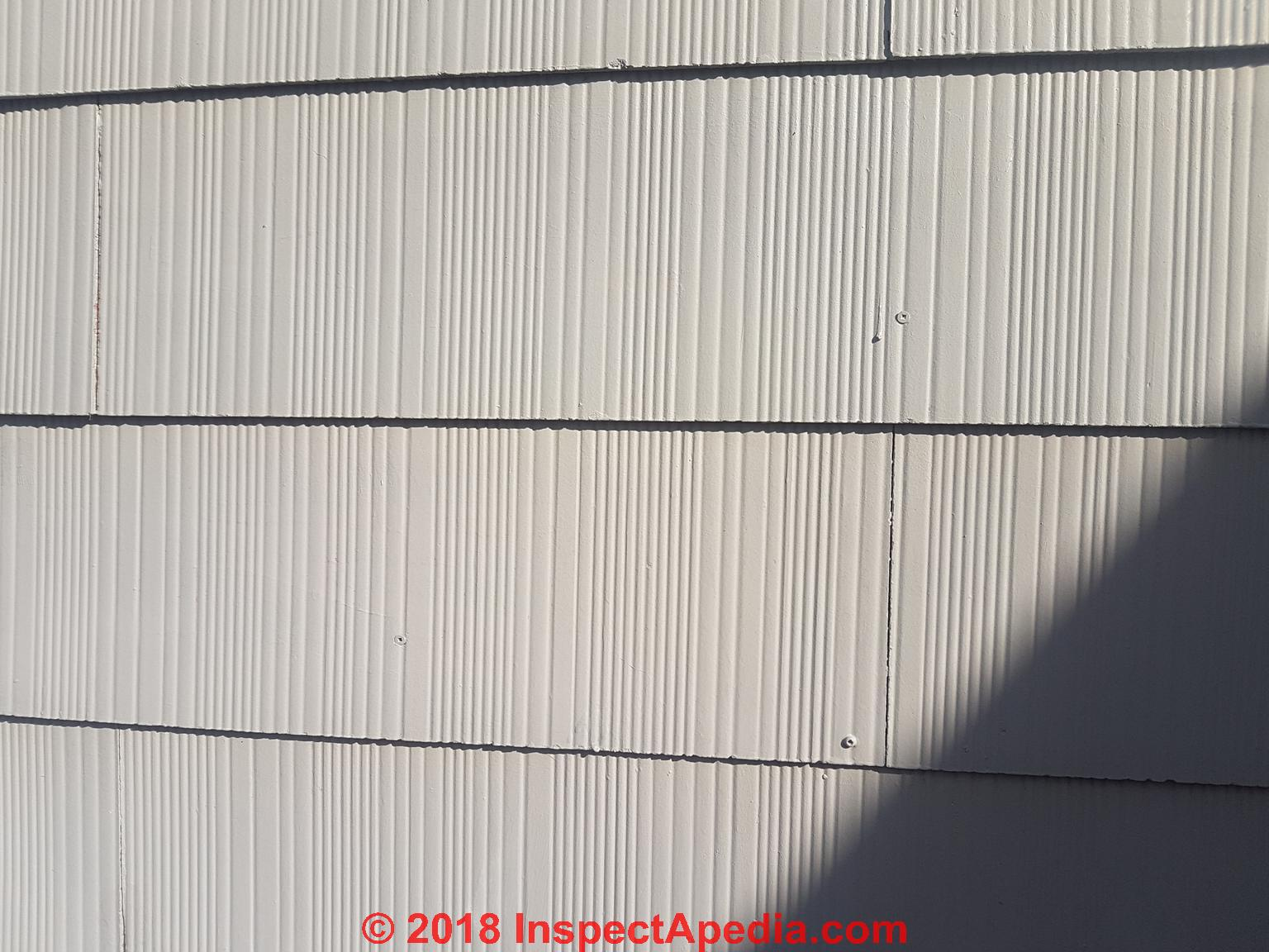 Asbestos Cement Shingle Siding Faqs Identification Cleaning Removal Disposal