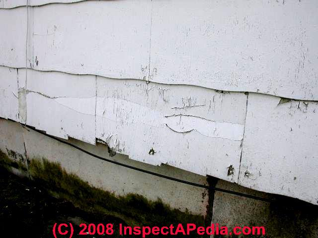 Asbestos In Siding Materials How To Identify Asbestos