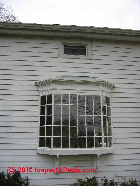 Bay windows ...