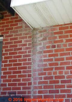 Stains On Brick Surfaces How To Identify Clean Or