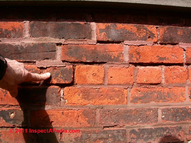 Brick Wall Damage Repair Repair Approaches For Bulged Cracked Loose Spalled Brick Walls
