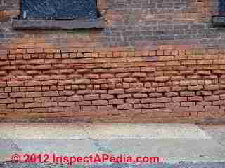 Spalling bricks (C) D Friedman