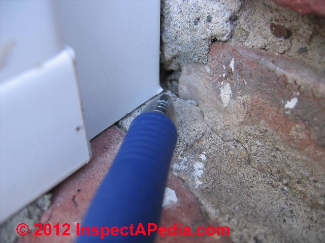 Brick Brick Wall Leak Diagnosis Repair