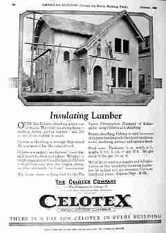 Celotex insulating lumber ad