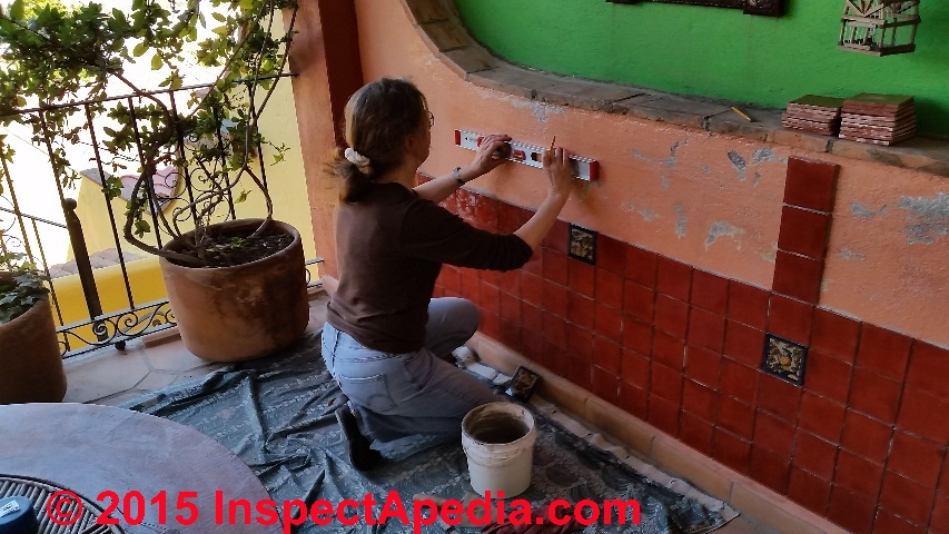 How to Install Ceramic Tile on a Concrete Wall