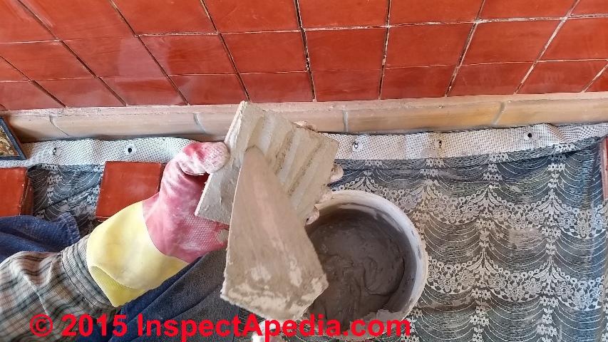 Install Ceramic Tile On A Wall Procedure C Daniel Friedman