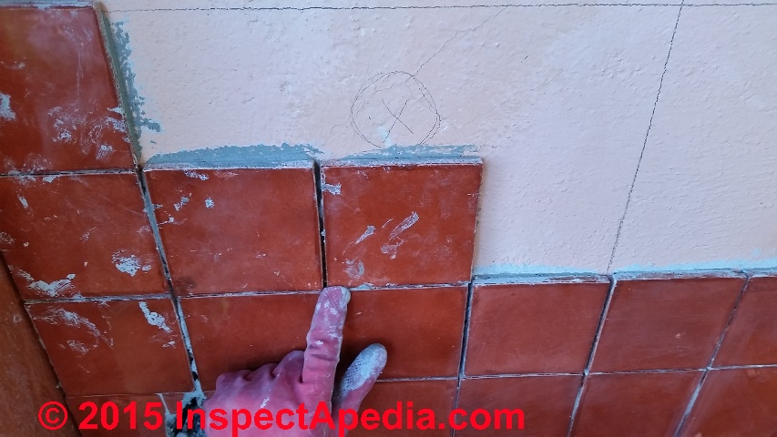 Install Ceramic Tile On A Wall Procedure C Daniel Friedman