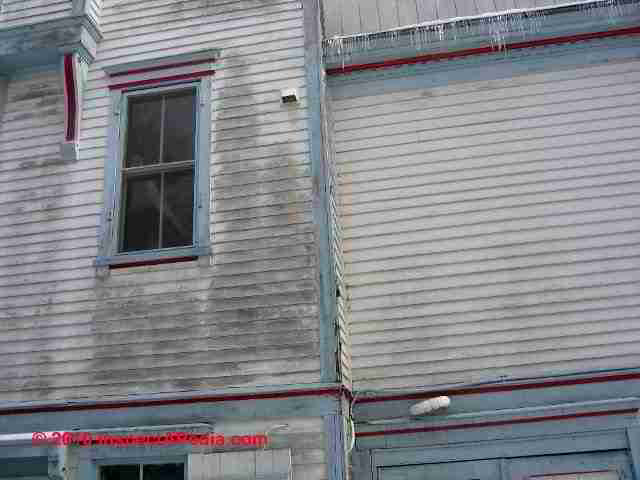 Stains & discoloration on Buildings How to diagnose stains on
