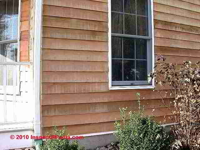 Types grades of wood siding choices installation - What type of wood for exterior trim ...