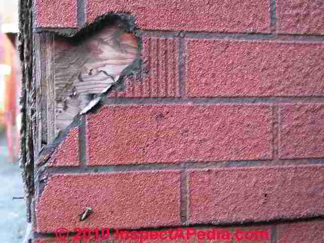 Damaged Asphalt Siding C Daniel Friedman