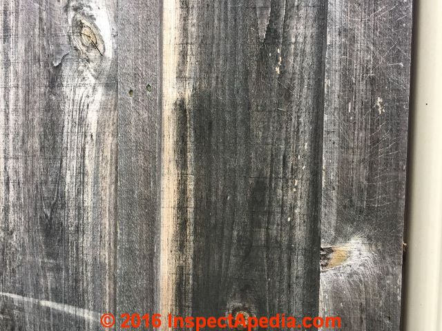 Wood Siding Stain Removal Cleaning New Stain Or Paint Application