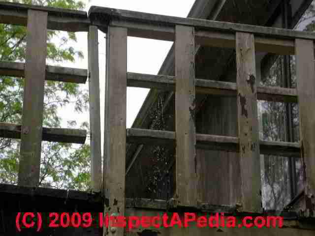 Deck Amp Porch Railing Guardrailing Construction Amp Codes
