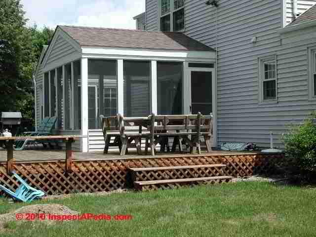 Porch Construction Amp Porch Screening Installation Details