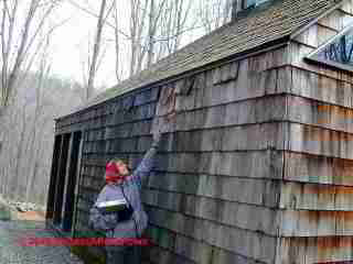 Weathered Cedar Shingles (C) Daniel Friedman
