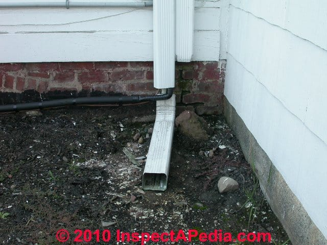 Super Buried Downspouts & Underground Drains for Roof Runoff FM99