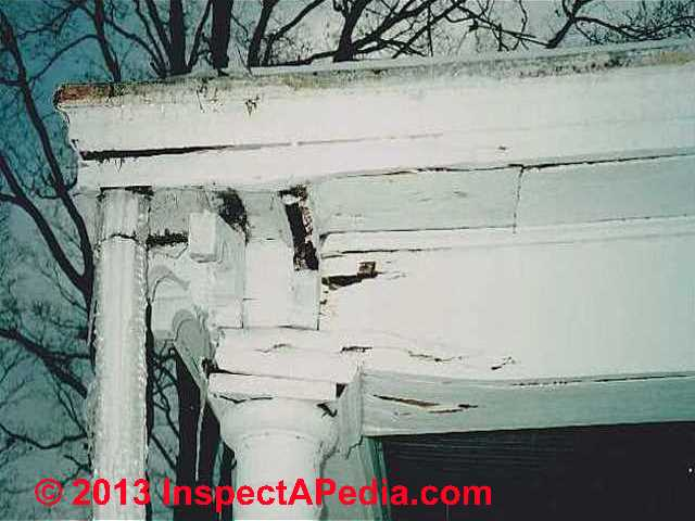Exteriors Of Buildings Inspection Defects Repairs Of