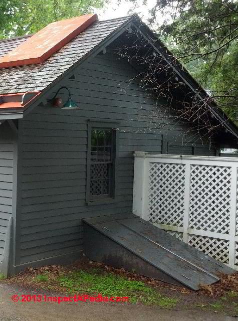 Bulkhead Door At The FDR Estate Hyde Park NY (C) Daniel Friedman