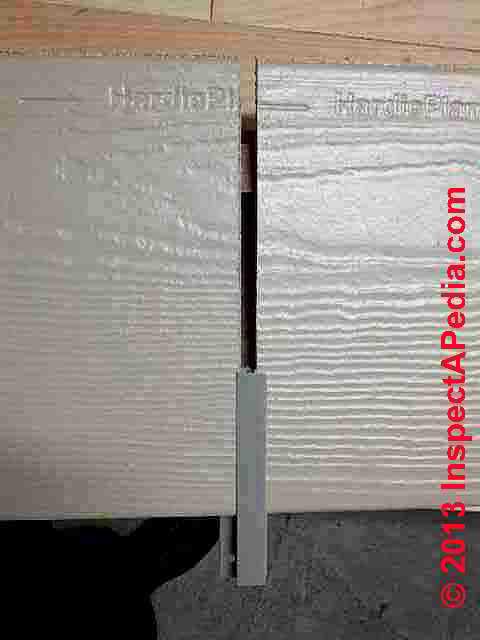 Certainteed Weatherboards & James HardiePlank Siding Identification