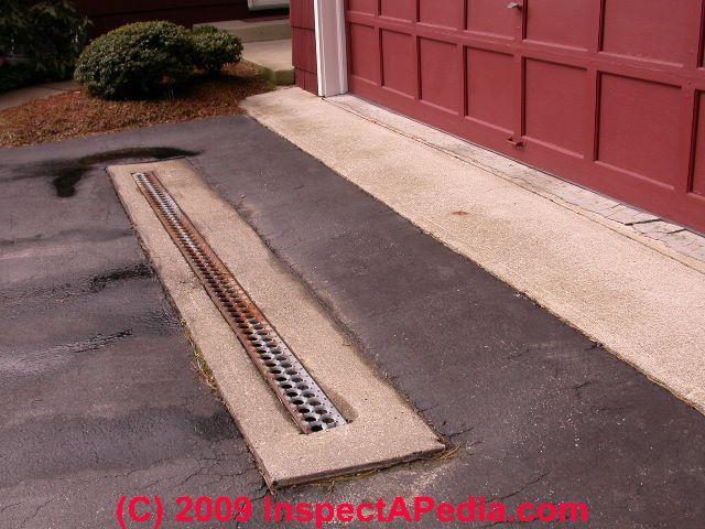 Wet basement prevention cure for Drain de garage installation