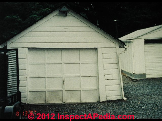 Garage Defects List Amp Home Inspection Education