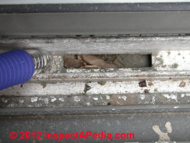 Defects Amp Leaks In Slider Or Glider Windows Diagnosis