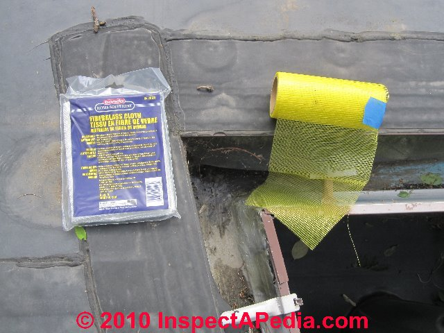 How to fix leaky gutters joint