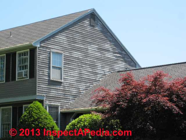 vinyl siding cleaning procedures products