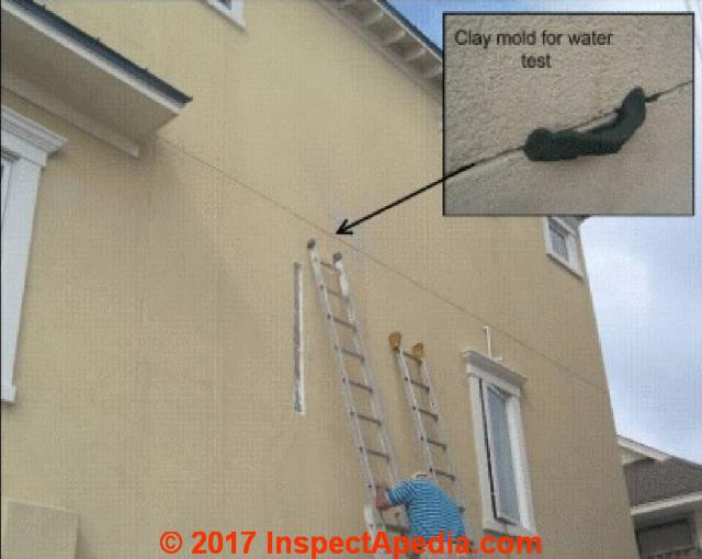 Stucco exterior stucco eifs stucco wall system installation inspection diagnosis repair How to plaster a house exterior